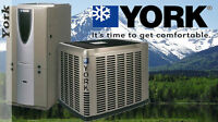 High Efficiency York Air Conditioner Very Special Price $2,300