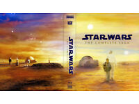 Stars Wars Complete Saga blu ray new condition never been watched