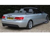BMW 3 SERIES 325I M SPORT (silver) 2008