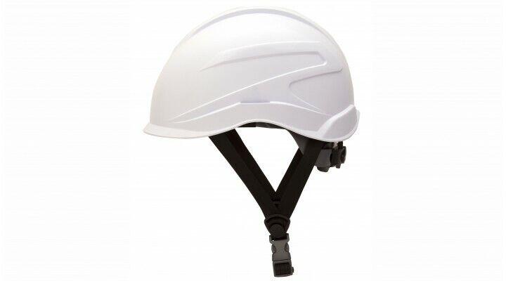 Pyramex HP76110 Ridgeline XR7 Cap Style Hard Hat 6-PT Ratchet Suspension, WHITE Business & Industrial