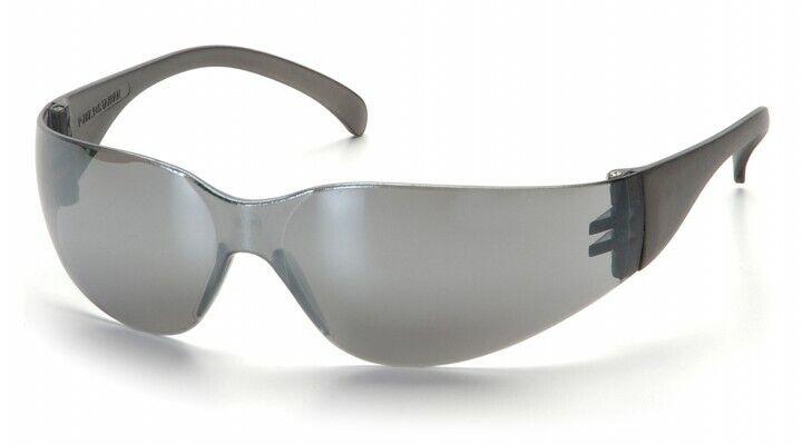 Pyramex Intruder S4170S SILVER MIRROR Safety Glasses Work Eyewear 12 Pair/1Dozen Business & Industrial
