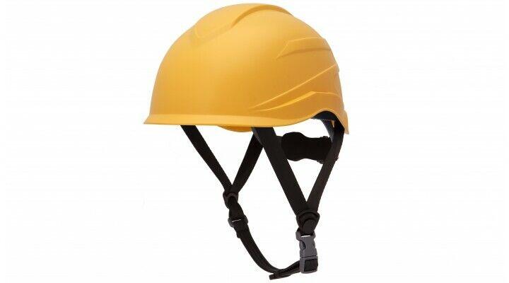 Pyramex HP76130 Ridgeline XR7 Cap Style Hard Hat 6 PT Ratchet Suspension YELLOW Business & Industrial