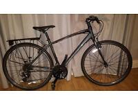 saracen urban response hybrid/road bike