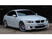 BMW 3 SERIES 320D M SPORT HIGHLINE (white) 2009