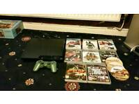 For sale playstation 3 with 1 control pad 10 games