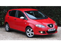 SEAT ALTEA REFERENCE SPORT TDI (red) 2008