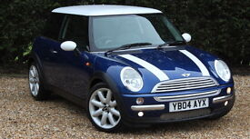 MINI HATCH COOPER (blue) 2004