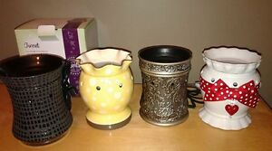 Full Sized Scentsy warmers, will trade for Wax Bars/Bricks