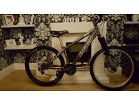saracen blitz 7005 series downhill bike