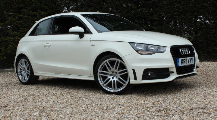 audi a1 tfsi s line white 2011 in yeovil somerset. Black Bedroom Furniture Sets. Home Design Ideas