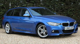 BMW 3 SERIES 320D M SPORT TOURING (blue) 2013
