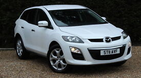 MAZDA CX-7 D SPORT TECH (white) 2011