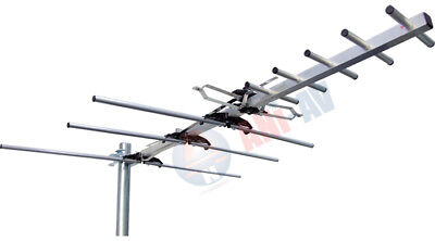 Used, UHF VHF FM OUTDOOR DIGITAL HDTV ATSC TV DTV ANTENNA - QUICK ASSEMBLY for sale  Shipping to India