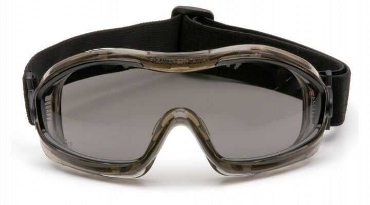 Pyramex G204t Indirect Vent Chemical Splash Anti-fog Goggles