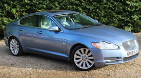 JAGUAR XF PREMIUM LUXURY V6 (blue) 2008