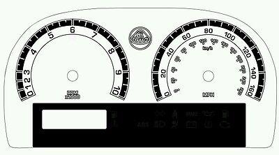 Lotus Elise & Exige Custom Gauge Face dials in Mercedes style