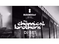 BUGGED OUT! THE CHEMICAL BROTHERS [DJ SET] TICKETS X 2 - 1st Dec, Motion