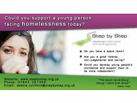 Could you support a young person facing homelessness? We offer great benefits and full support.