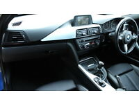 BMW 3 SERIES 320D M SPORT TOURING (blue) 2013