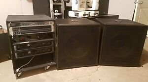 "18"" Subs and Rack Gear"