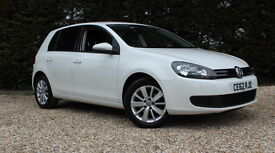 VOLKSWAGEN GOLF MATCH TDI BLUEMOTION TECHNOLOGY (white) 2012