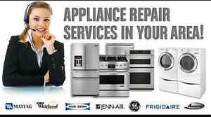 ***FREE ESTIMATES***APPLIANCE REPAIRS  647-428-1867