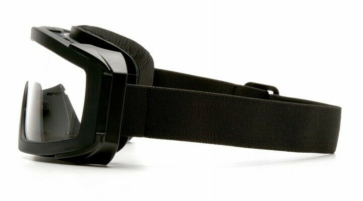 Pyramex VGGB1510STM Venture Gear Tactical Goggles Black/Clear H2Max AntiFog Lens Hunting