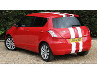SUZUKI SWIFT SZ4 (red) 2014