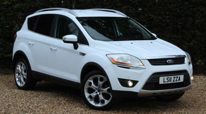 ford kuga titanium tdci 2wd white 2011 in yeovil somerset gumtree. Black Bedroom Furniture Sets. Home Design Ideas