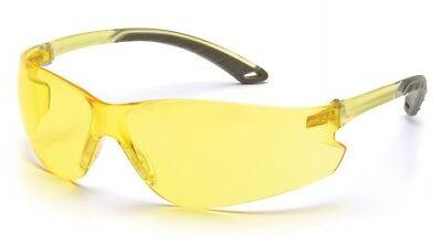 Pyramex S5830s Itek Safety Glasses Amber Lens 12 Pack
