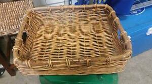 large cane tray/basket Thagoona Ipswich City Preview