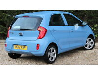 KIA PICANTO 1 AIR (blue) 2012