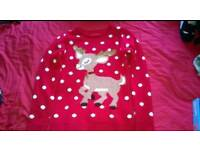 7-8 years Christmas jumper