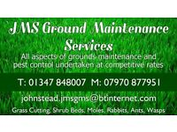 JMS Ground Maintenance and Pest Control Service.