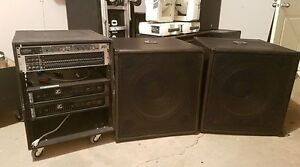 "18"" Subs and Rack Gear (Price Reduced)"