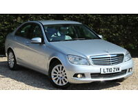 MERCEDES C-CLASS C220 CDI BLUEEFFICIENCY ELEGANCE (silver) 2010