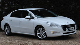 PEUGEOT 508 HDI ACTIVE (white) 2012