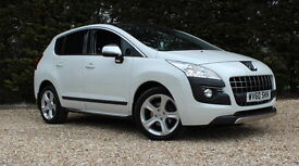 PEUGEOT 3008 HDI EXCLUSIVE (white) 2010