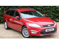 FORD MONDEO ZETEC BUSINESS EDITION TDCI (red) 2014