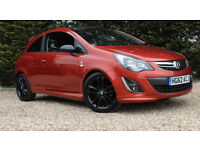 VAUXHALL CORSA LIMITED EDITION (orange) 2012