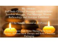 Newmarket Hawaiian Lomi Lomi massage