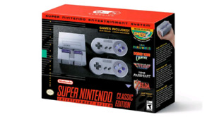 SNES CLASSIC FOR SALE