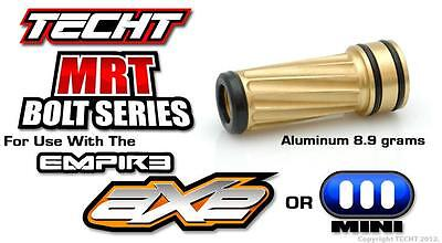 New TechT Paintball MRT Bolt Series Upgrade Part - Gold For Empire Axe / Mini