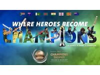 ICC Champions Trophy FIRST SEMI FINAL (A1 v B2) and SECOND SEMI-FINAL (A2 V B1) SILVER TICKETS
