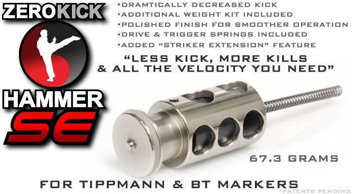 TECHT Zero Kick Hammer SE - Upgrade for Tippmann and BT Markers