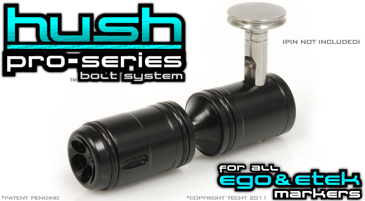 New TechT Paintball Pro Series Hush Bolt For Planet Eclipse EGO / ETEK