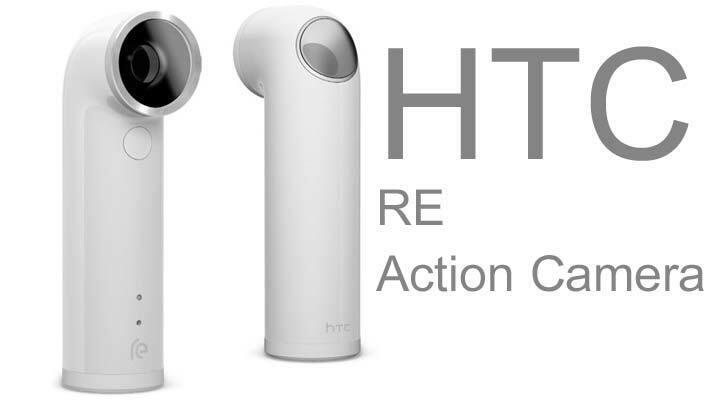 как выглядит Видеокамера HTC RE 16.0MP 1080P Ultra-Wide Angle Lens Waterproof Digital Camera (White) фото