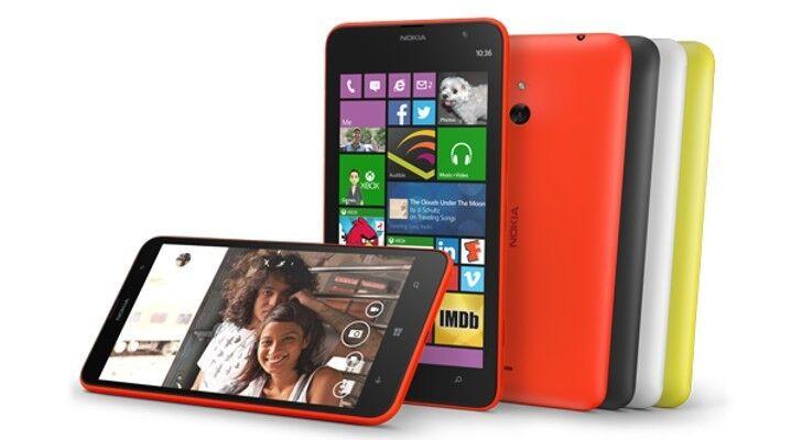 Nokia Lumia 635 At&t Gsm Unlocked Rm-975 4g Lte 8gb Windo...