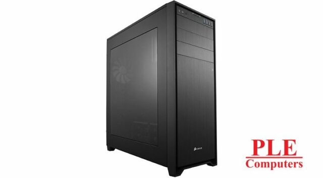 Corsair Obsidian 750D Black Full Tower Case w/Side Panel Window[CC-9011035-WW]