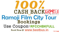 Ramoji Film City Online Transportation and Entry Ticket Booking